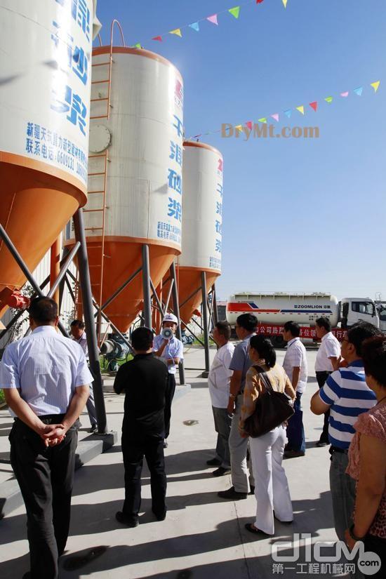 中联楼式干混砂浆生产线助力新疆重点工程建设