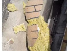 上海一交房不到2年的小区外墙岩棉保温板脱落,岩棉板用在外墙的问题才刚刚显示